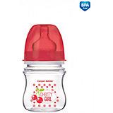 Антиколиковая бутылочка коллекция Фрукты, 120 мл, Canpol Babies, красный