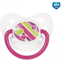 Латексная пустышка , 0-6 мес., Canpol Babies, розовый
