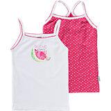 ABSORBA Unterhemden Doppelpack für Mädchen
