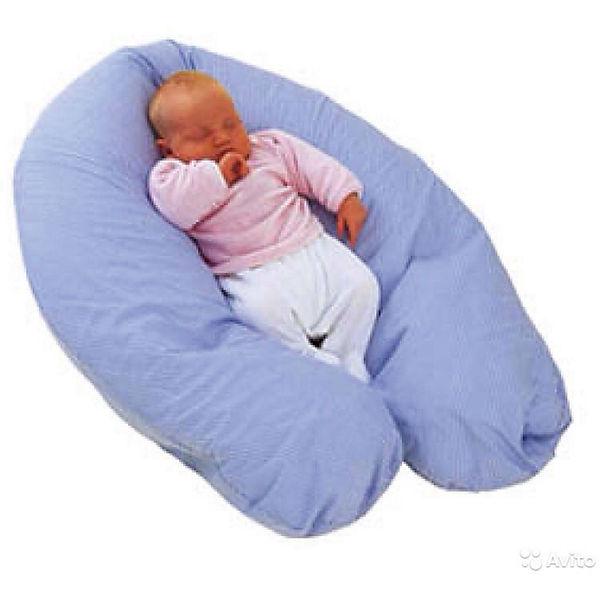 Подушка многофункциональная Comfy Big Marcele, PLANTEX, синий