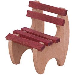 Садовый стульчик для мини-кукол