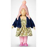 """Мини-кукла """"Девочка в пестром платье"""", PUPSIQUE"""