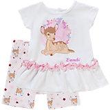 DISNEY BAMBI Baby Set T-Shirt + Shorts für Mädchen