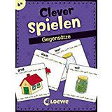 Clever spielen - Gegensätze (KartenLernSpiel)