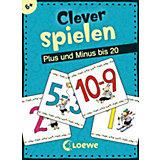Clever spielen - Plus und Minus bis 20 (KartenLernSpiel)