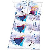 Kinderbettwäsche Disney`s Die Eiskönigin, Renforcè, 135 x 200 cm