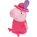 """Мягкая игрушка """"Мама в шляпе"""", 30 см, Свинка Пеппа"""