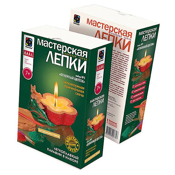 """Мастерская лепки """"Глиняная свеча. Огненный цветок"""""""