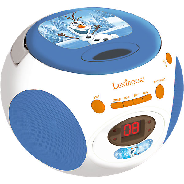 die eisk nigin olaf cd player mit radio disney die eisk nigin mytoys. Black Bedroom Furniture Sets. Home Design Ideas