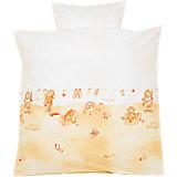Babybettwäsche Busy Bär, beige, 80 x 80 cm