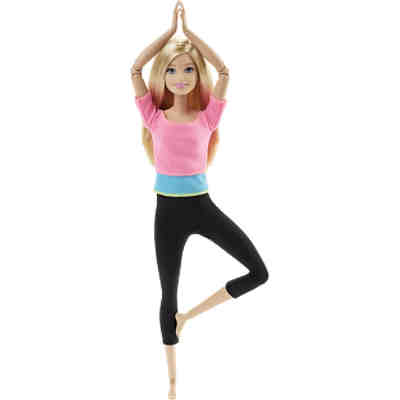 Barbie Made to Move mit pinkem Top