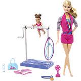 """Игровой набор """"Barbie-гимнастка"""""""