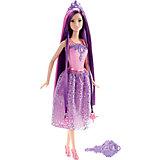 """Кукла """"Принцесса"""" с фиолетовыми волосами, Barbie"""