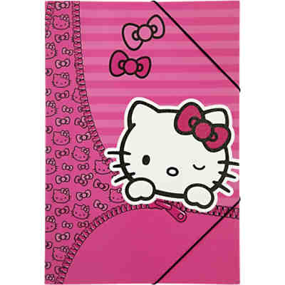 Gummizugmappe A3 Hello Kitty
