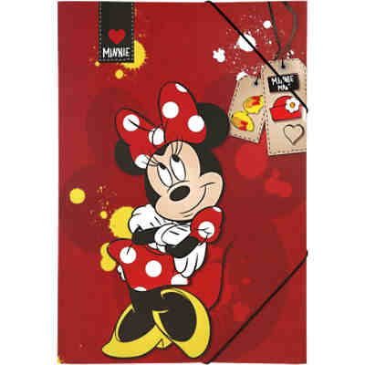 Gummizugmappe A3 Minnie Mouse