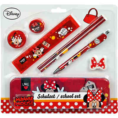 Schulset Minnie Mouse, 8-tlg.