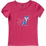 T-Shirt WILDERNESS für Mädchen, Organic Cotton