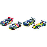 Disney Cars Carbon Racers Die-Cast 4er-Pack