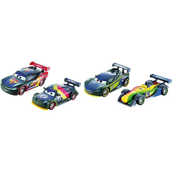 Disney Cars Carbon Racers Die-Cast 4er-Pack