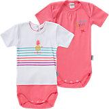 ABSORBA Baby Bodys Doppelpack für Mädchen