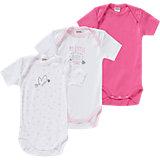 ABSORBA Baby Bodys 3er-Pack für Mädchen