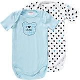 ABSORBA Baby Bodys Doppelpack für Jungen