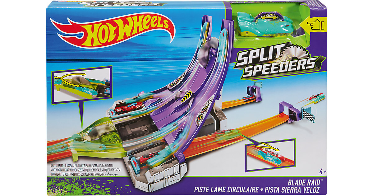 Hot Wheels Split Speeders Säge Attacke
