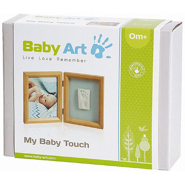 gipsabdruck set mit 2 tlg bilderrahmen honey baby art mytoys. Black Bedroom Furniture Sets. Home Design Ideas