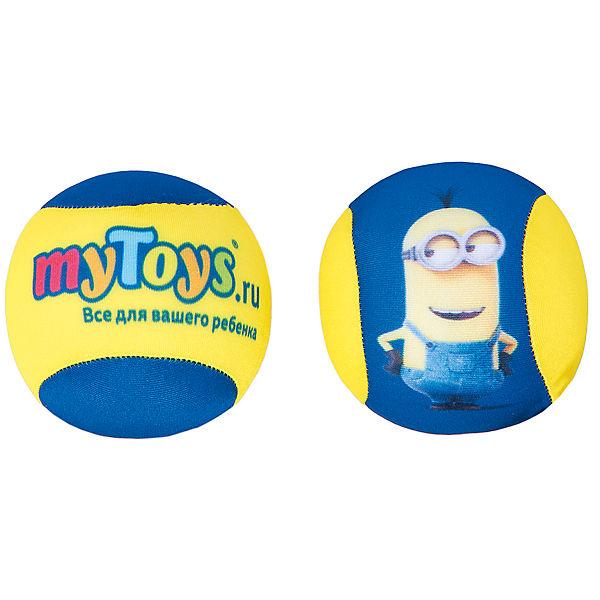 """Антистресс-мячики """"Миньоны"""" (диаметр 8 см, 2 шт)"""