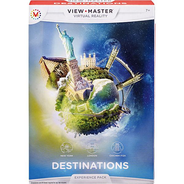 Набор визуализаций: Достопримечательности, View-Master