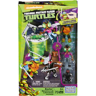 Mega Bloks Turtles - Spielset Baxter Mutationslabor