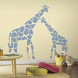 Wandsticker Mommy and Me Giraffen, 2 tlg.
