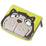 Plüsch-Geldbörse Katze
