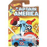 "Машинки серии ""Капитан Америка"", Hot Wheels"