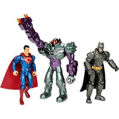 Batman v Superman Dawn of Justice - Figuren 3er-Pack