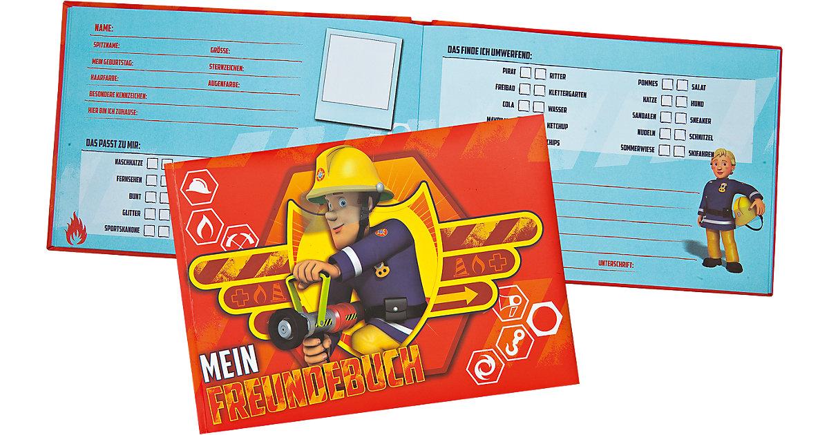 Buch - Freundebuch Feuerwehrmann Sam