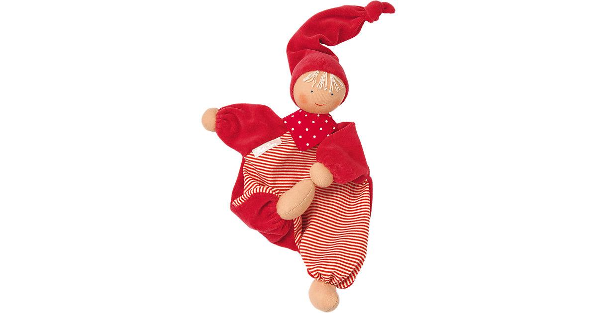 Schmusepüppchen Colour Kids Gugguli Rot, 28 cm