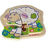 Eichhorn Schaf, Einlegepuzzle