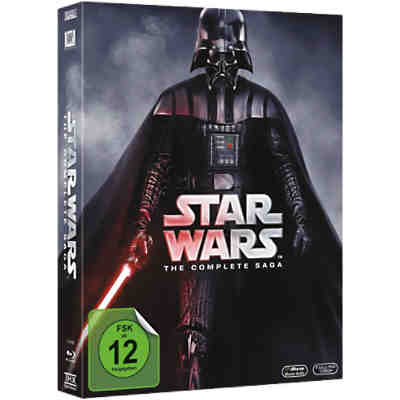 BLU-RAY Star Wars - Complete Saga
