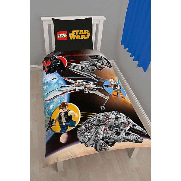 lego star wars space bettw sche star wars mytoys. Black Bedroom Furniture Sets. Home Design Ideas