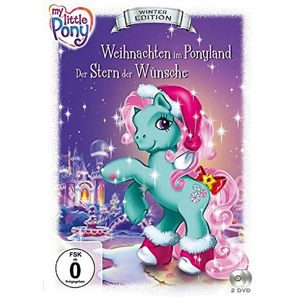 DVD My Little Pony - Winter Edition (2 DVDs)