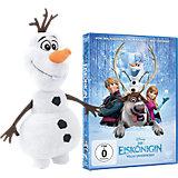 DVD Disney Die Eiskönigin + Olaf Schneemann Plüsch 20cm