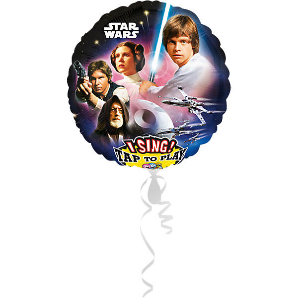 Singender Folienballon Star Wars