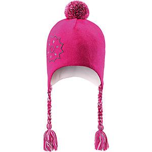 Шапка для девочки LASSIE by Reima - розовый