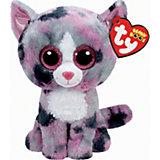 Beanie Boo 15 cm Katze Lindi