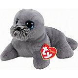 """Мягкая игрушка """"Морской лев (серый) Wiggy, 33 см"""", Classic, Ty"""