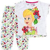 DISNEY TINKERBELL Schlafanzug für Mädchen