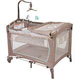Манеж-кровать Львенок, Baby Trend, бежевый