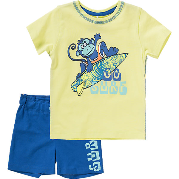 Set T-Shirt & Shorts für Jungen, Organic Cotton