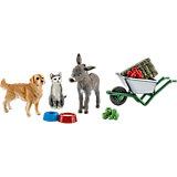 Schleich Farm Life: 41423 Fütterung auf dem Bauernhof